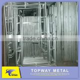 H frame scaffolding / Walk through frame 1219mm*1524mm stand pipe 42*1.80mm