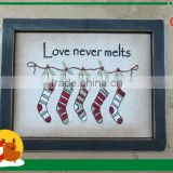 New Style Wooden Photo Frame Christmas Home Decoration Ornaments