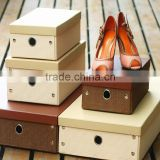 2015 Custom Made Retail Mini Cardboard Paper Shoe Box                                                                         Quality Choice