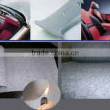 100% polyester flame-retardant needlepunched nonwovens automotive interior fabric(auto headliner)