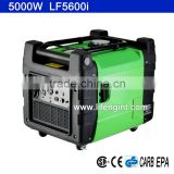 5000W rated power EPA CARB CSA CE GS certification gasoline inverter generator LF5600i                                                                         Quality Choice