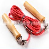 China wholesale OEM wooden cheap jump rope