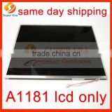 A1181 lcd only panel for macbook 13.3'' display only LCD 20 pins LP133WX3-TLA1