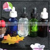trade assuranc Factory Original clear plastic 5ml 10ml eye dropper bottle empty small 30ml clear pet dropper bottles