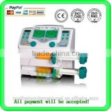 Promotion! Double Medical Channel Syringe Infuser / Syringe Infusion Pump with Drug Library CE ISO Certificates (MSLIS02A)