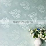 polyester non-woven compound jacquard chinese design wallpaper 3d effect wallpaper price