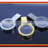 paypal acceptable crystal/glasses material laser engraved logo bulk 4gb usb flash drives