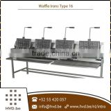 Superior Quality Industrial Gas Waffle Maker Machine Type 16
