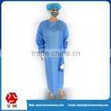 China factory 35g polypropylene spunbond SMS non woven single use surgical gowns and drapes