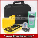 Fiber Optic ToolKit QX40 OTDR Fault Tester 500M SM Launch Cable Box Hard Carrying Case