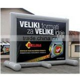 chart projector screen/Inflatable moive screen /outdoor inflatable screen