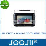 9-10 Inch Portable Mini TV With DVD player, Support FM USB SD, Built-in Stereo Speakers                                                                         Quality Choice