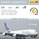 Competitive air freight from china to Europe