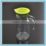700ml glass water jug with lid cold water dispenser jugs
