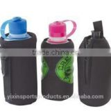 customed portable various kinds insulated fashionable eco-friendly neoprene water single water bottle/can cooler