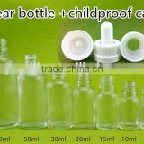 10ml 60ml 120ml 30ml amber cobalt blue clear e-liquid glass dropper bottles with screw cap
