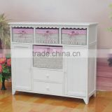 bedside cabinet with woven storge basket locker butiful design for underware in bedroom furniture