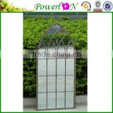 Popular Antique Novelty Wrought Iron Frame Wall Mounted Full Length Mirror For Home Outdoor Garden J16M TS05 X11 PL08-9800S