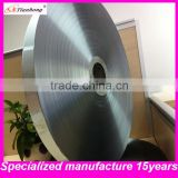 single sided or double Aluminium foil mylar tape manufacturer for cables shield in Zhejiang