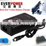 Everpower top quality golf caddy cart charger golf buggy charger 12V 3.3A 4A ISO9001 Factory