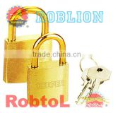 Brass Shackle Brass Padlock(itemID:QGAF)-Mary