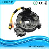 84306-09020 Auto electrical China supplier clock spring sub assy wholesale air bag spiral cable