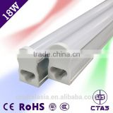 CE&RoHS approved manufacturer in China Energy Saver T5 Integrated LED retrofit Tube 18W 1800lm PF>0.9 t5 led tube