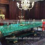 China Factory Price Malachite Green Onyx Slab for Countertop