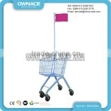 Customized Wholesale Folding Mini Kids Shopping Cart