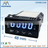 XMT 7100 Size 48*24mm PID Blue Led Light Digital Display digital temperature controller thermostat wh7016c
