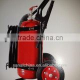 50kg ABC Wheeled dry powder fire extinguisher with EN1866-1 with Estintore Callerrato polvere