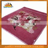 Customized Design High Quality Baby Blanket Satin Trim