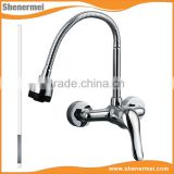 Wall Mounted Folding Kitchen Mixer , Kitchen Sink Water Tap , Kitchen Sink Faucet