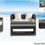 Commercial furniture star hotel sofa & chairs lobby furniture in rattan/wicker material
