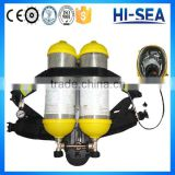 RHZKF6.8/30-2 Positive Pressure Air Breathing Apparatus with Double Carbon Fiber Winding Composite Cylinders