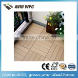 Eco-friendly and waterproof wpc balcony flooring tiles for sale