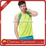 taobao mens tank top skateboarding tshirt color combination basketball jersey training gym shirt wholesale cycling vests