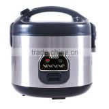 Factory price kitchen appliance stainless steel electric deluxe rice cooker in in 1.2L/1.5L/1.8L
