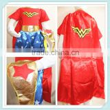 Justice League Wonder Woman Child Girls Superhero Fancy Dress Up Costumes Kids Girl Toddlers Wonder Woman Superhero Costume