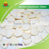 High Quality GMP certificate Bovine Colostrums Tablet