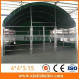 INquiry about Cattle Tent With Steel Fence And Sun Shade Net