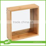 popular bamboo wall shelf for DIY