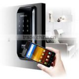 Override Emergency key nfc door lock