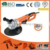 YONGKANG KEYFINE power tools 230mm 2200w high performance motor rotary handle ANGLE GRINDER