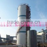 ALB anaerobic fluidized bed reactor for tanning wastewater treatment