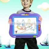 Fun tablet color magnetic drawing board 1-3 years old baby early childhood1-3 years old baby early childhood