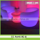 good looking inflatable pvc led sofa/inflatable furniture for family