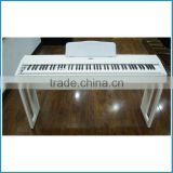 white color 88 key progressive hammer-action keyboard digital piano