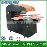 Four Stations Heat transfer machine,Heat transfer press machine with 4 stations, design different size CE approved.