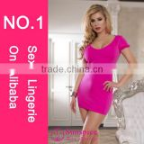 Sunspice hot sale lingerie manufacturer quality sexy hot adult transparent dress sex hot club dance wear sexy clubwear